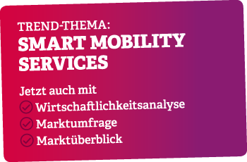 Trend-Thema im Juli: Smart Mobility Services